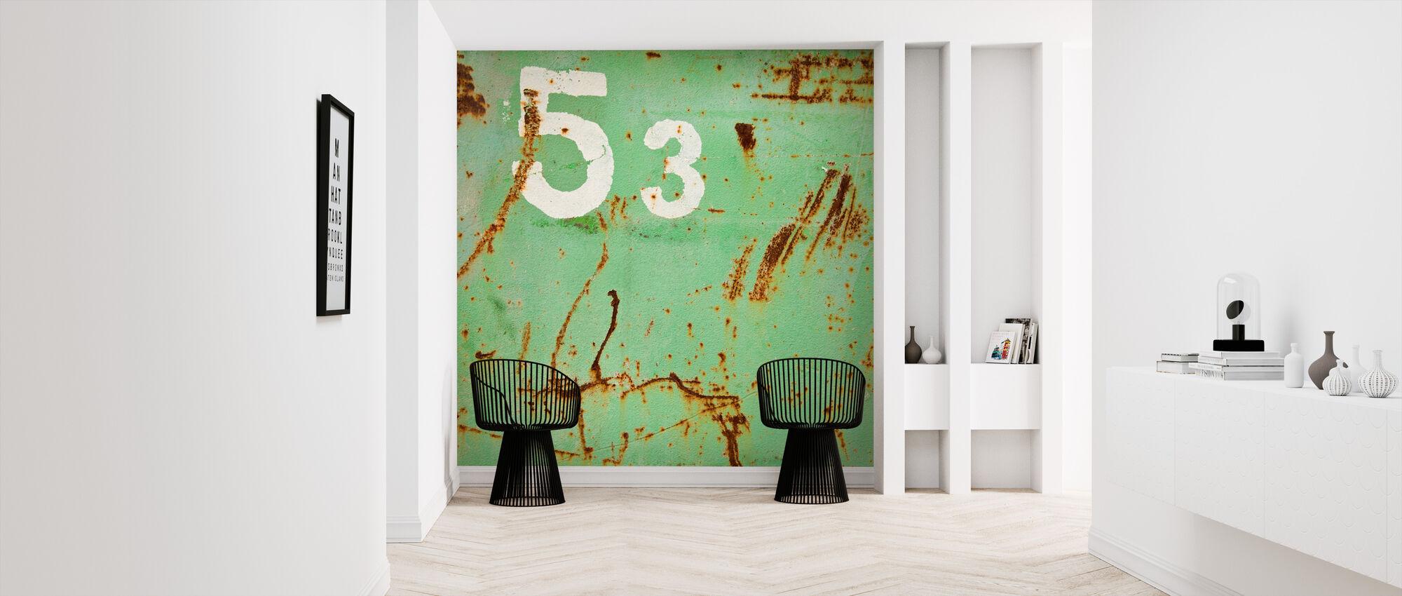 Grunge Fifty-three - Wallpaper - Hallway