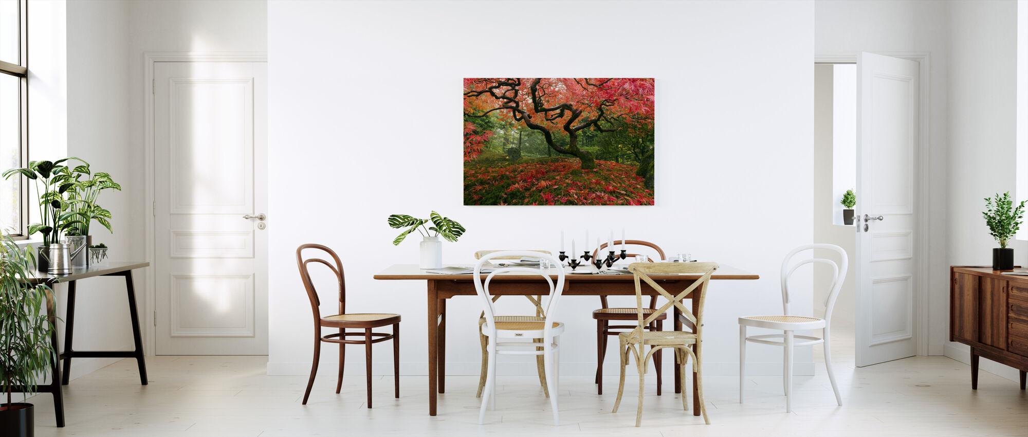 Japanse esdoornboom - Canvas print - Keuken