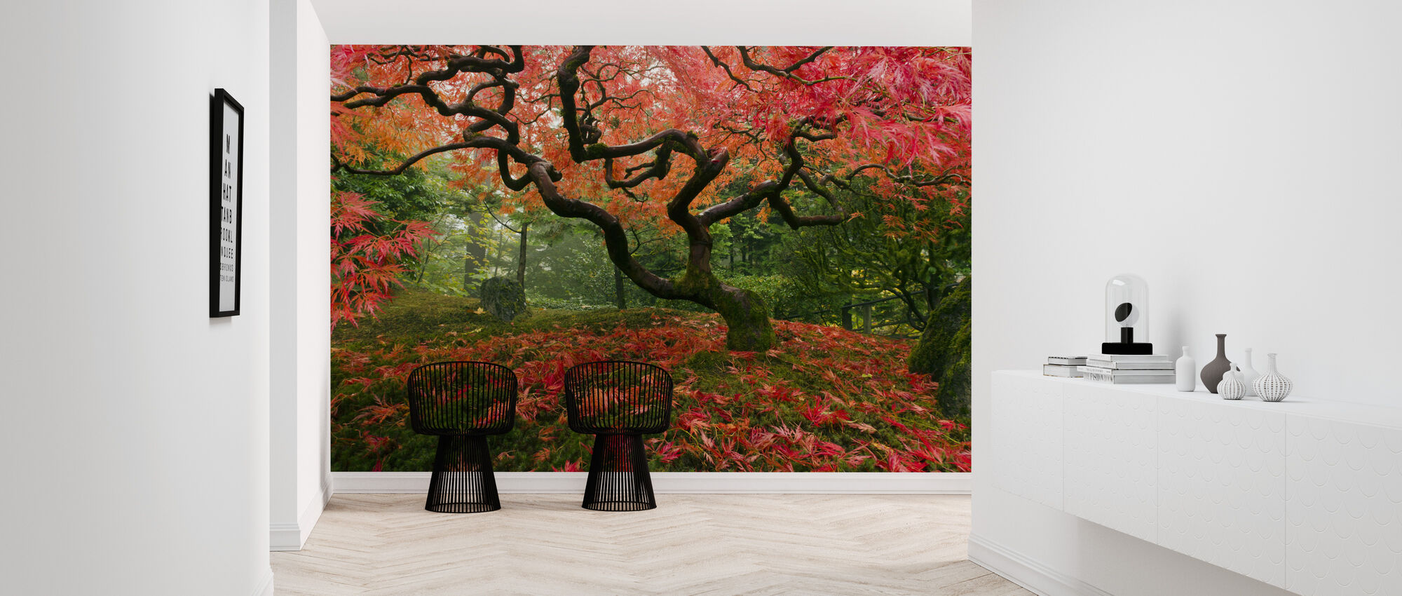 Japanese Maple Tree - Wallpaper - Hallway