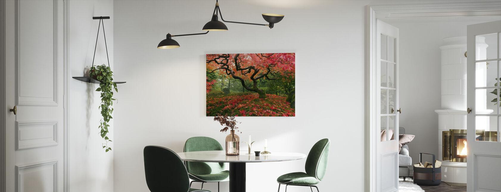 Japanilainen vaahtera Tree - Canvastaulu - Keittiö