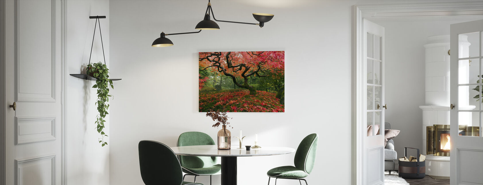 Japansk lönnträd - Canvastavla - Kök