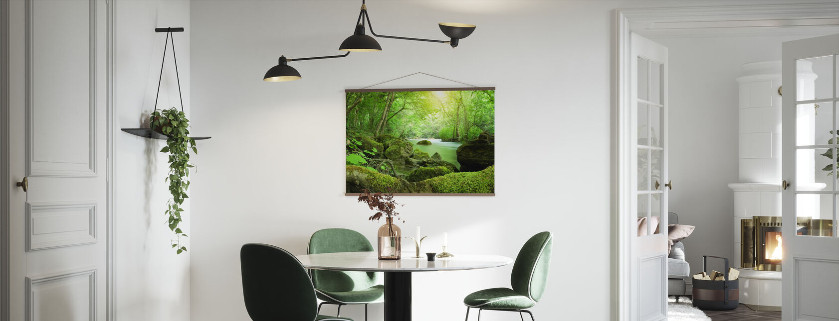 River in the Forest - Poster - Kitchen