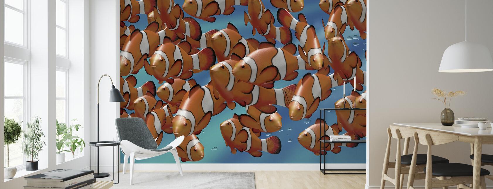 Clown Fish - Wallpaper - Living Room