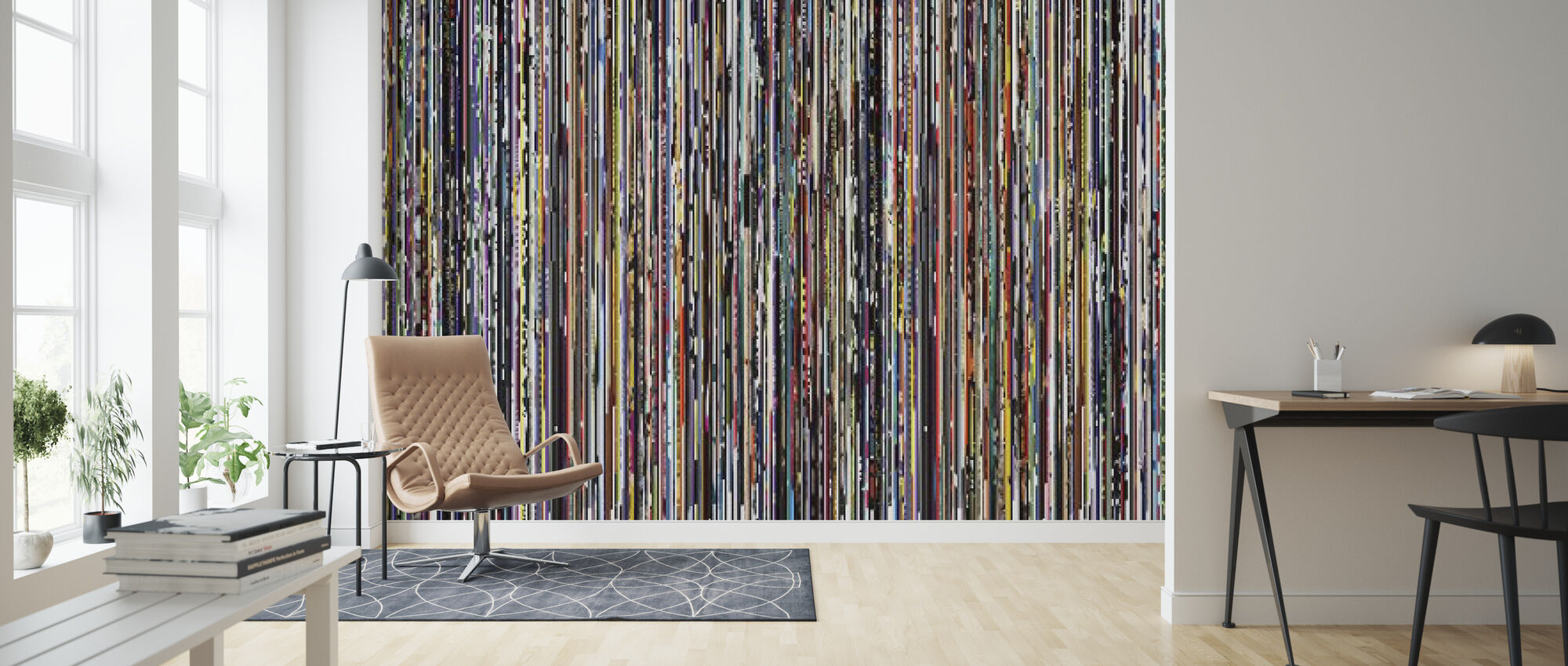 - Datrix - Wallpaper - Living Room
