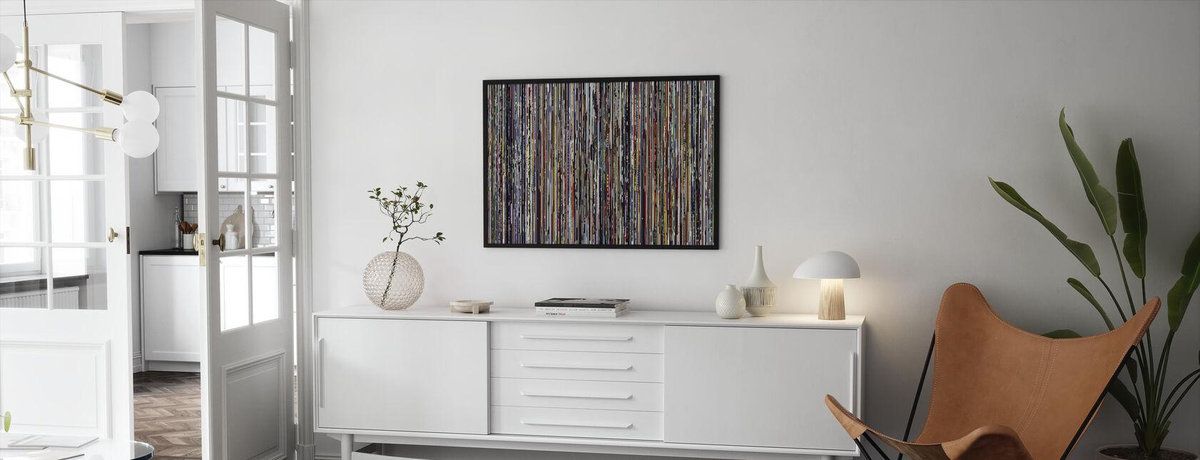 - Datrix - Framed print - Living Room