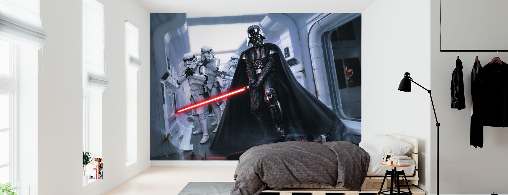 Darth Vader™ - Hævn - Tapet - Soveværelse