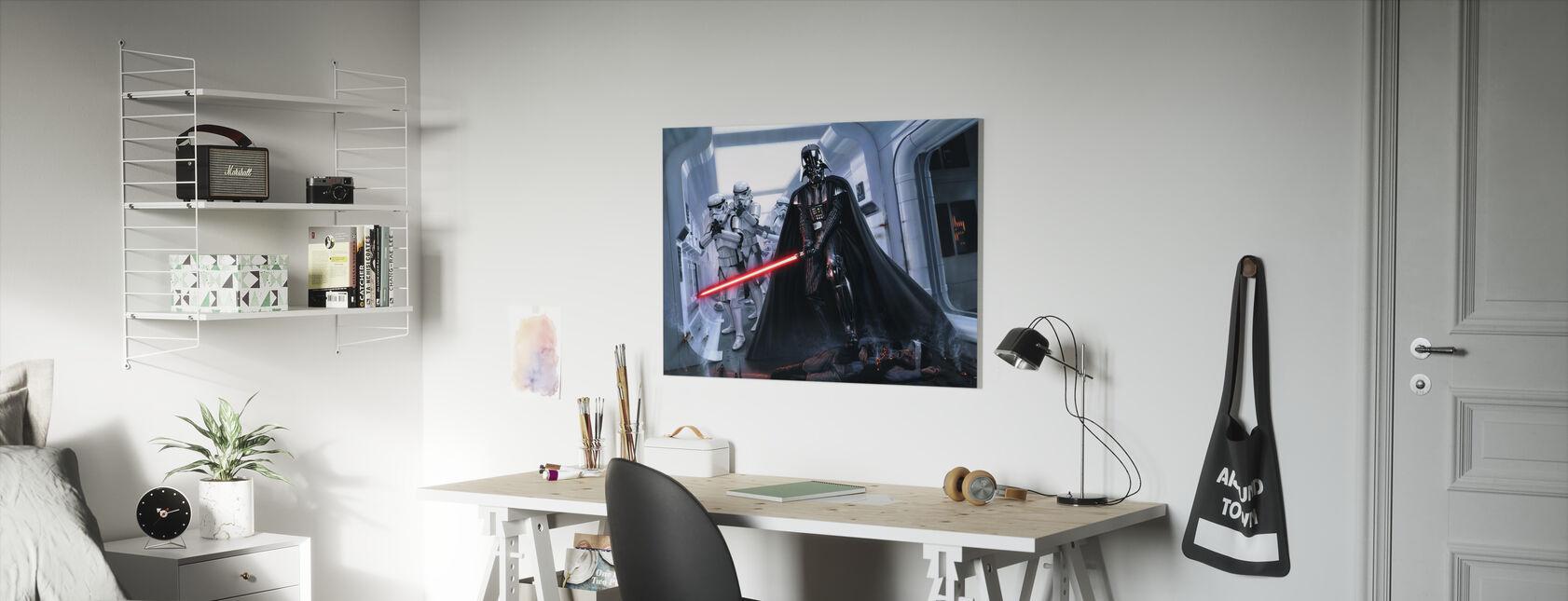 Darth Vader™ - Hævn - Billede på lærred - Børneværelse