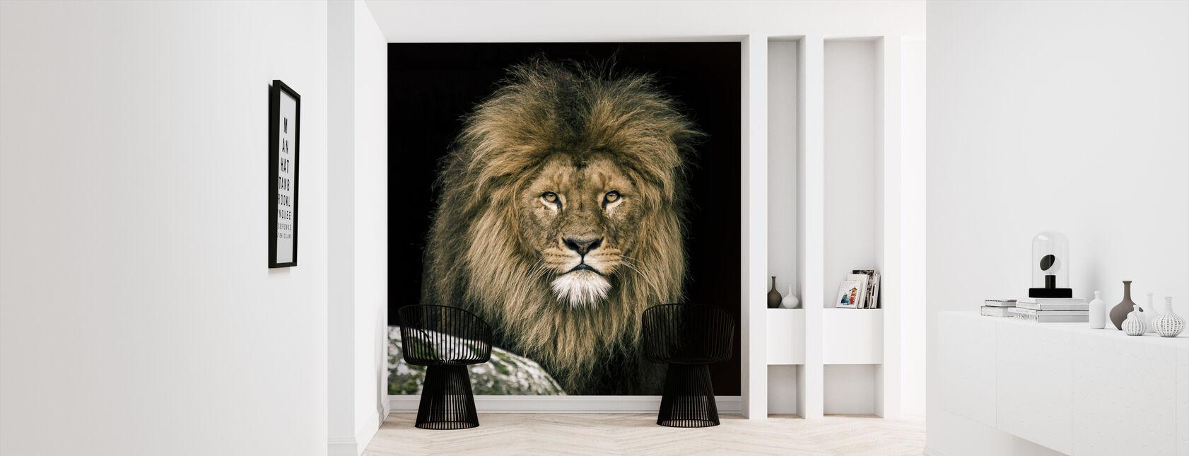 Lion - Wallpaper - Hallway