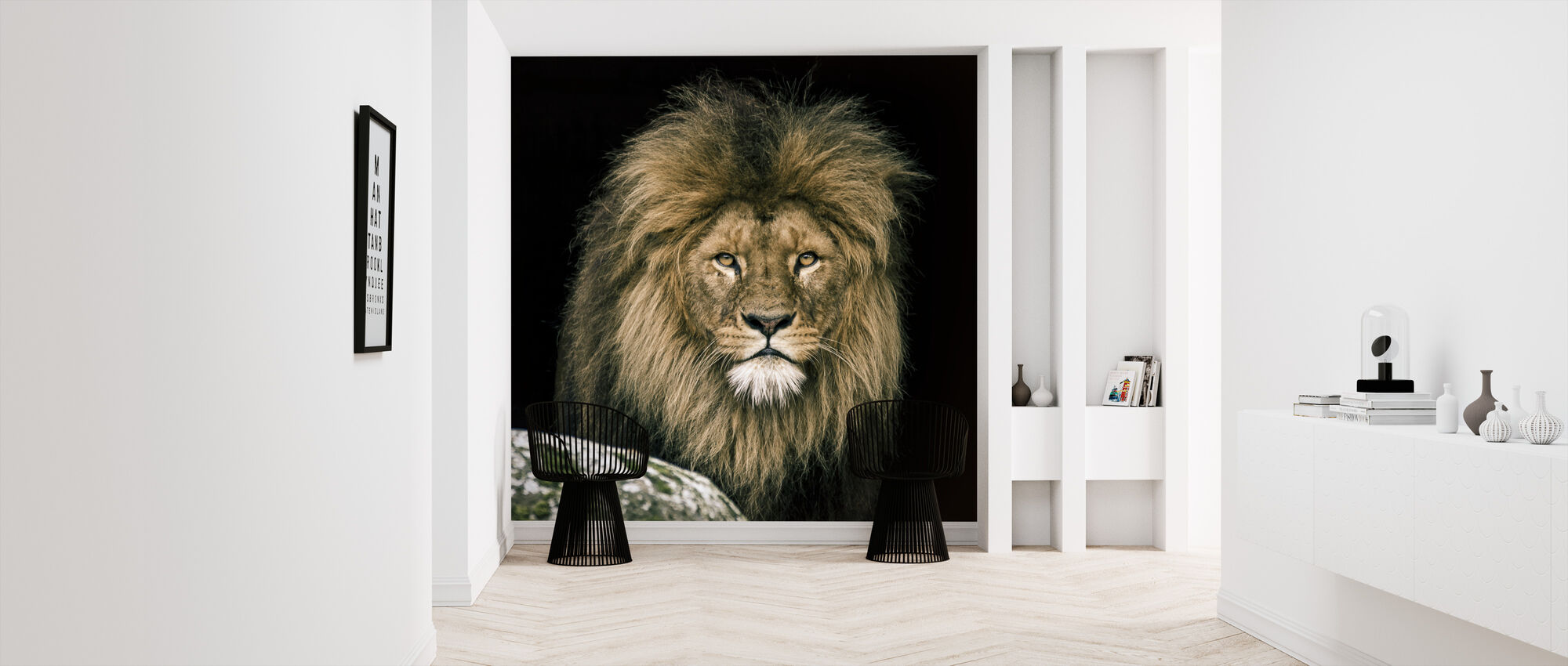 Lion - Wallpaper - Hallway