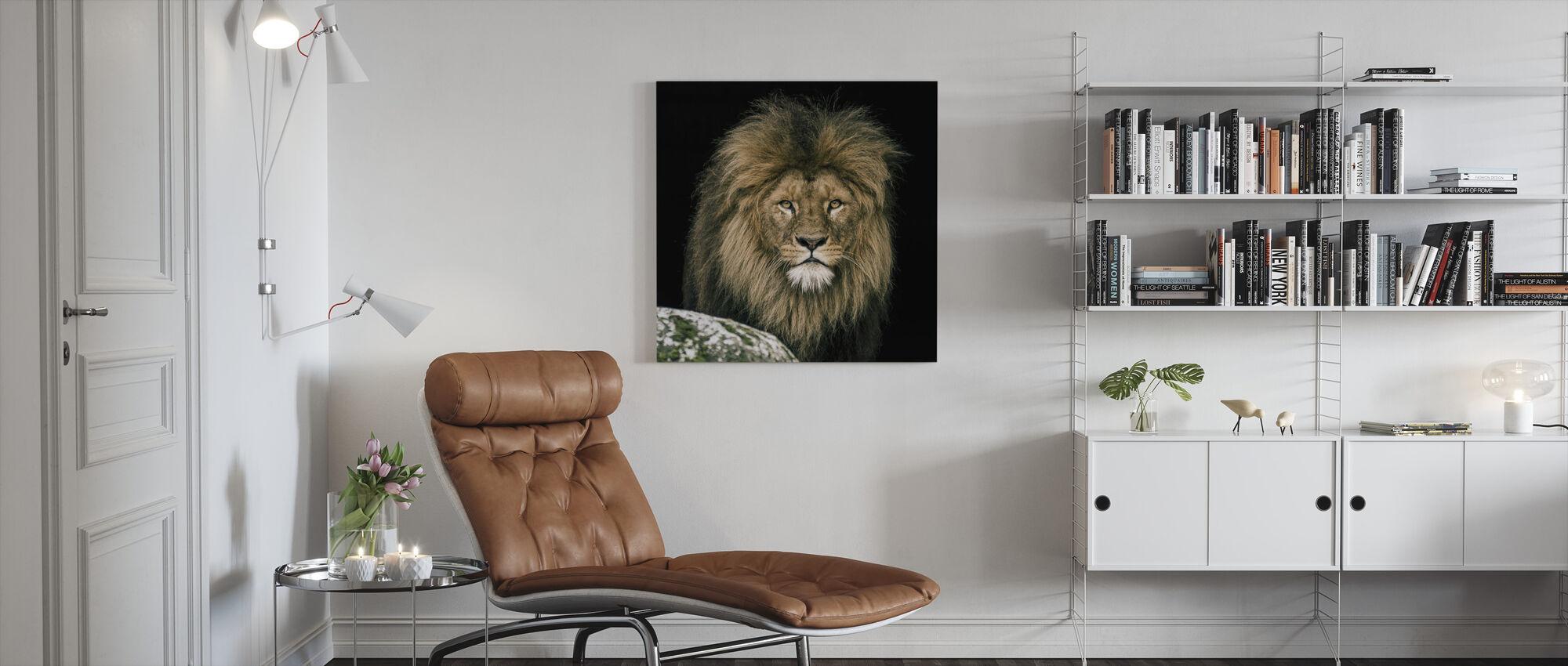 Lion - Canvas print - Living Room