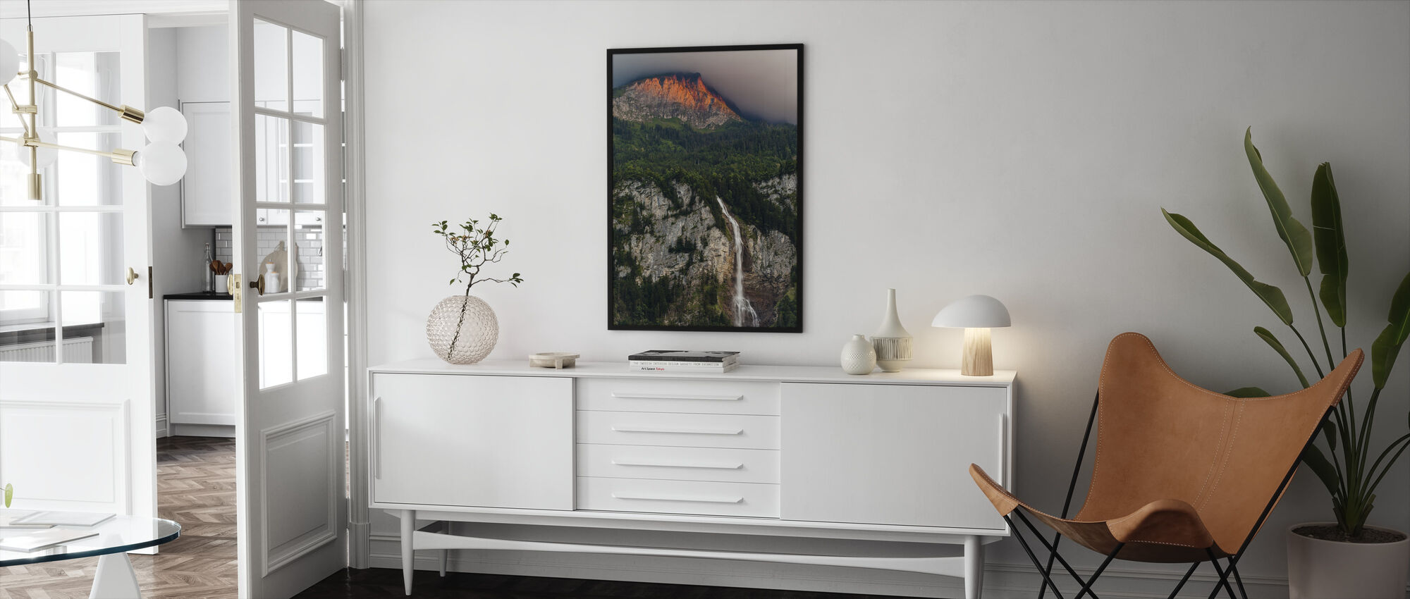 Touched by Light - Framed print - Living Room