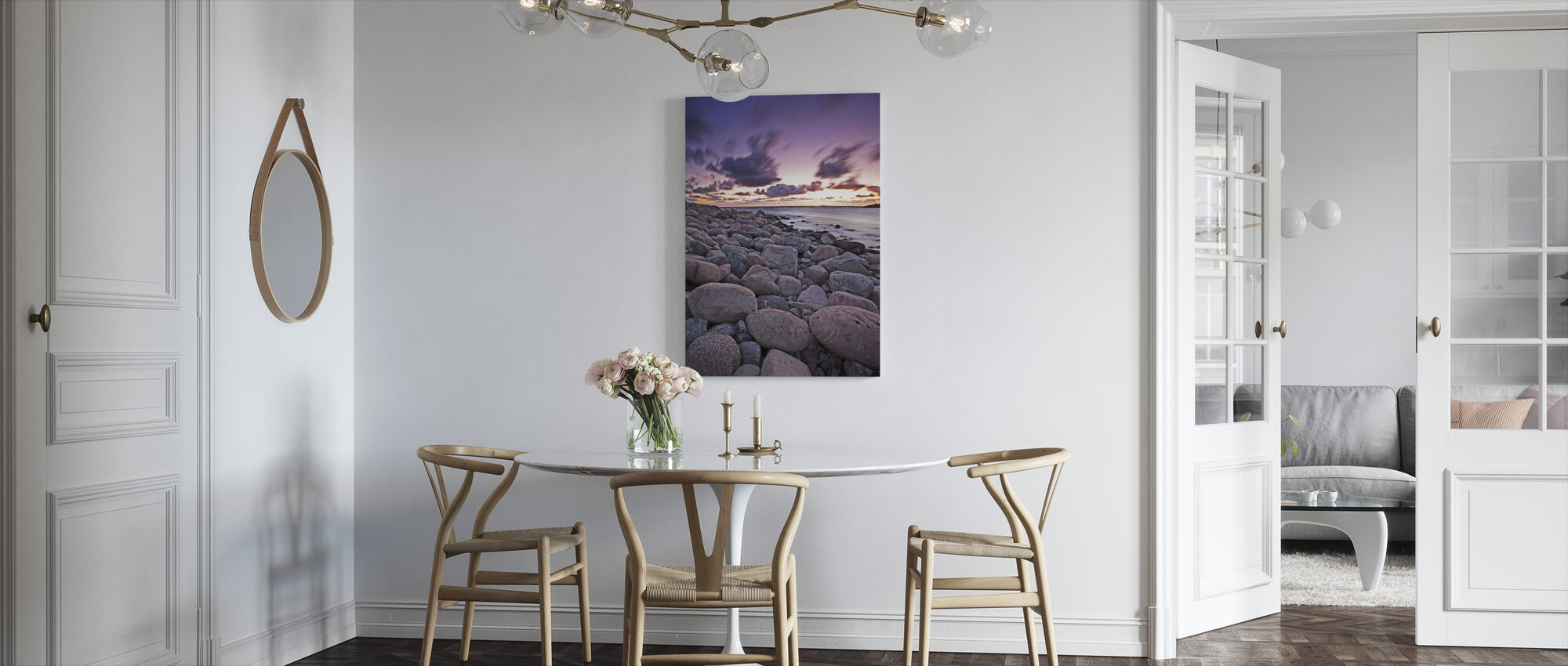Sand for Giants - Canvas print - Kitchen