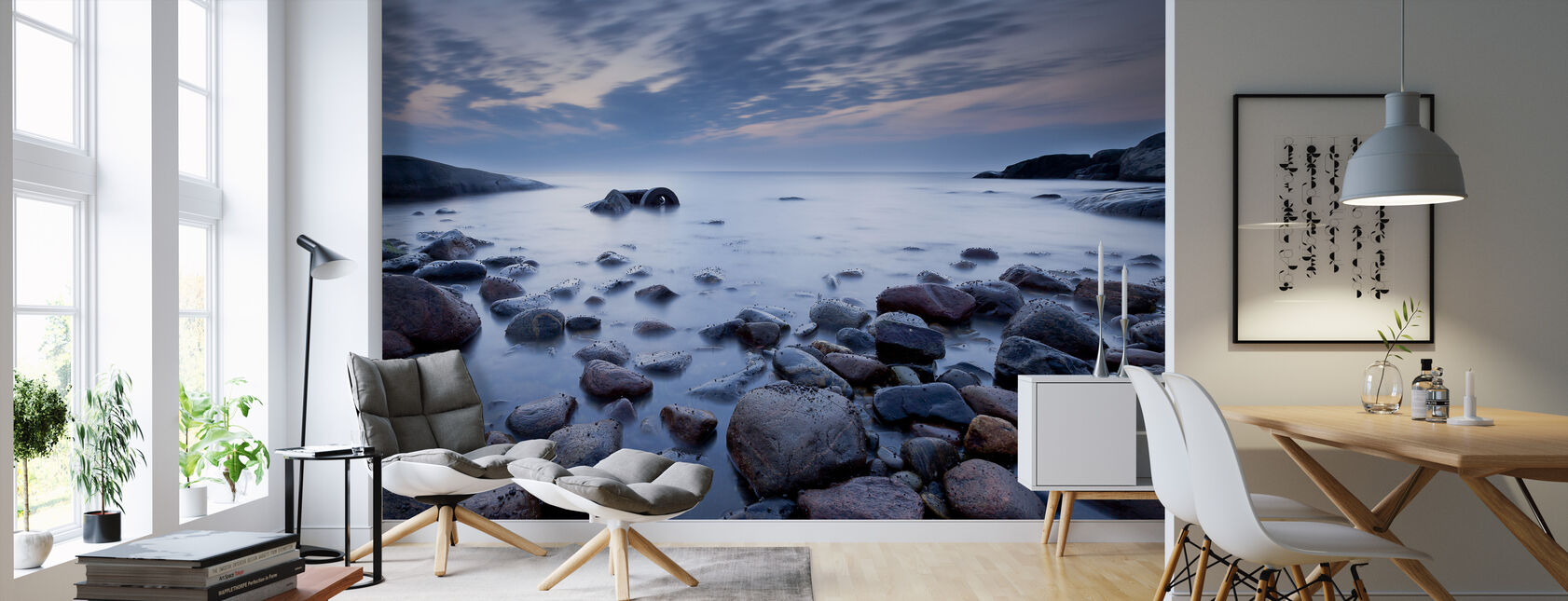Mystic Ocean - Wallpaper - Living Room