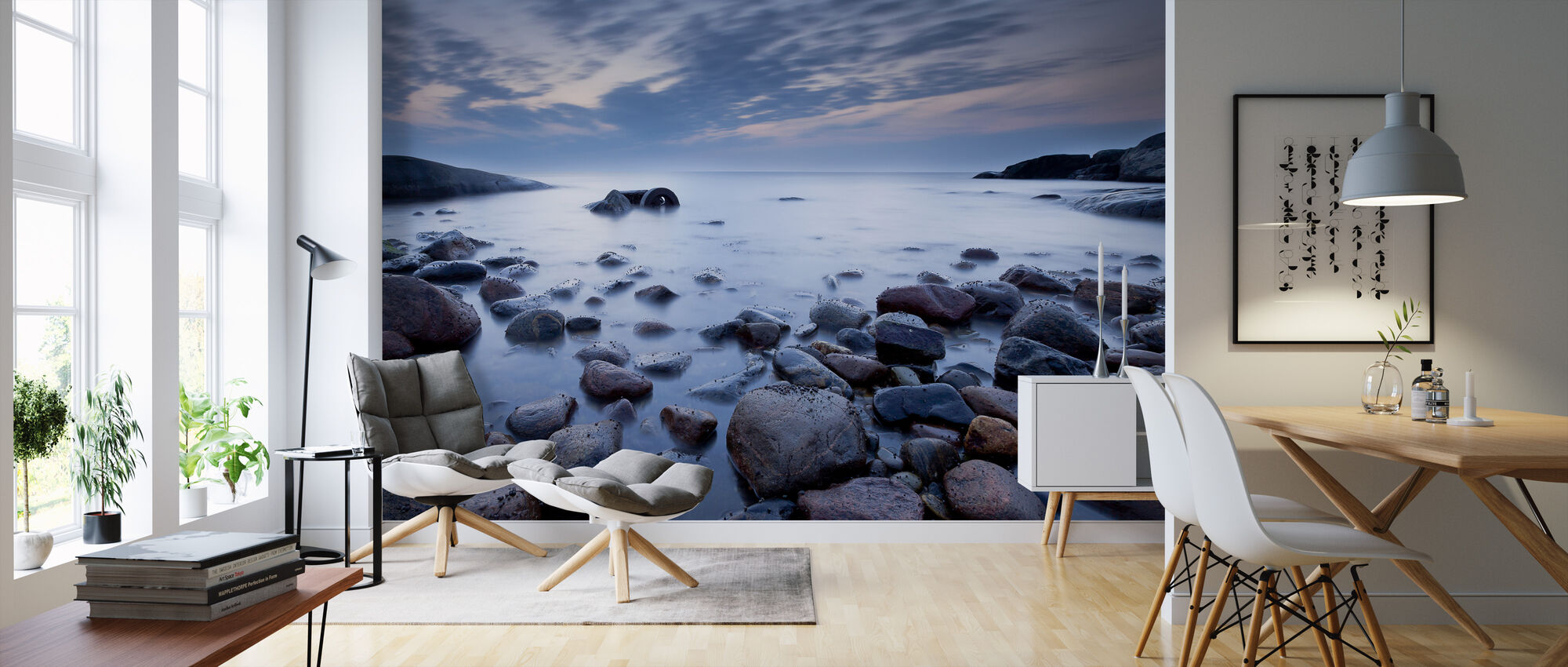 Mystic Ocean - Wallpaper - Living Room