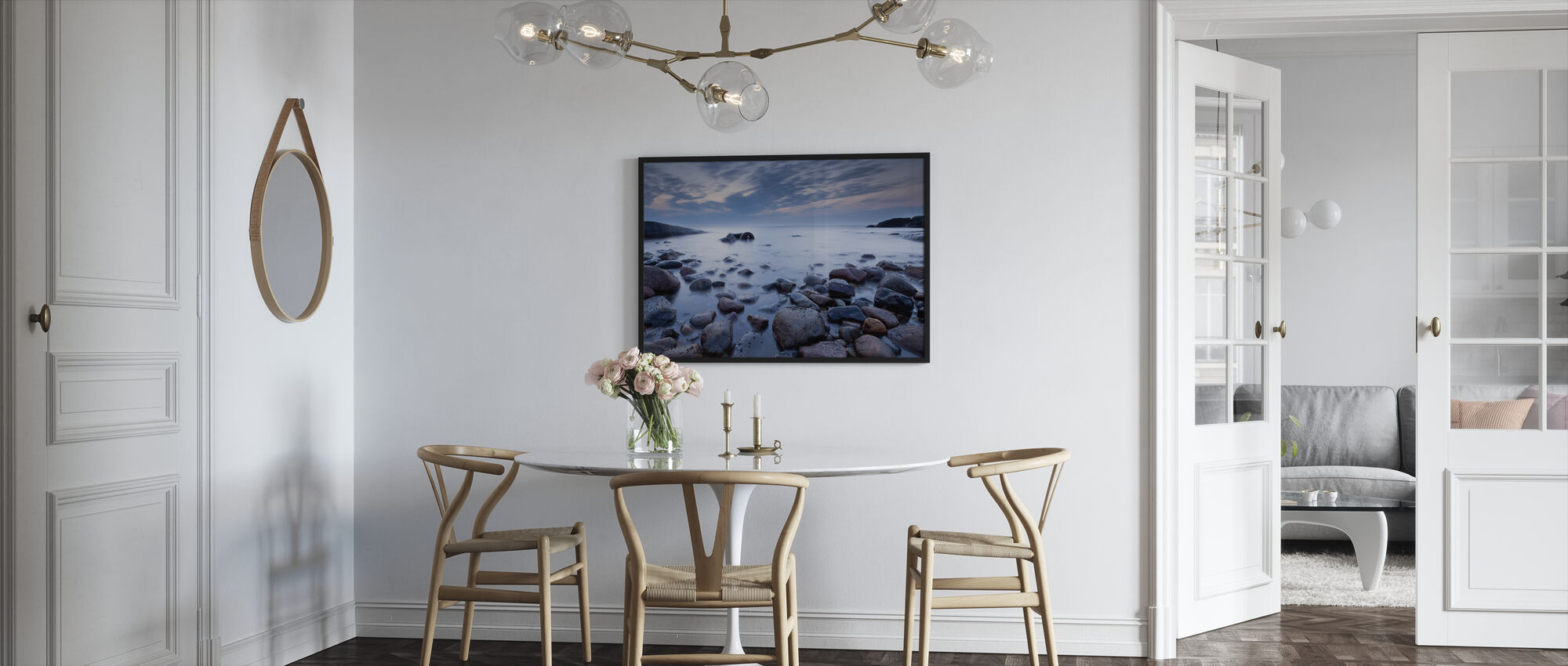 Mystic Ocean - Framed print - Kitchen