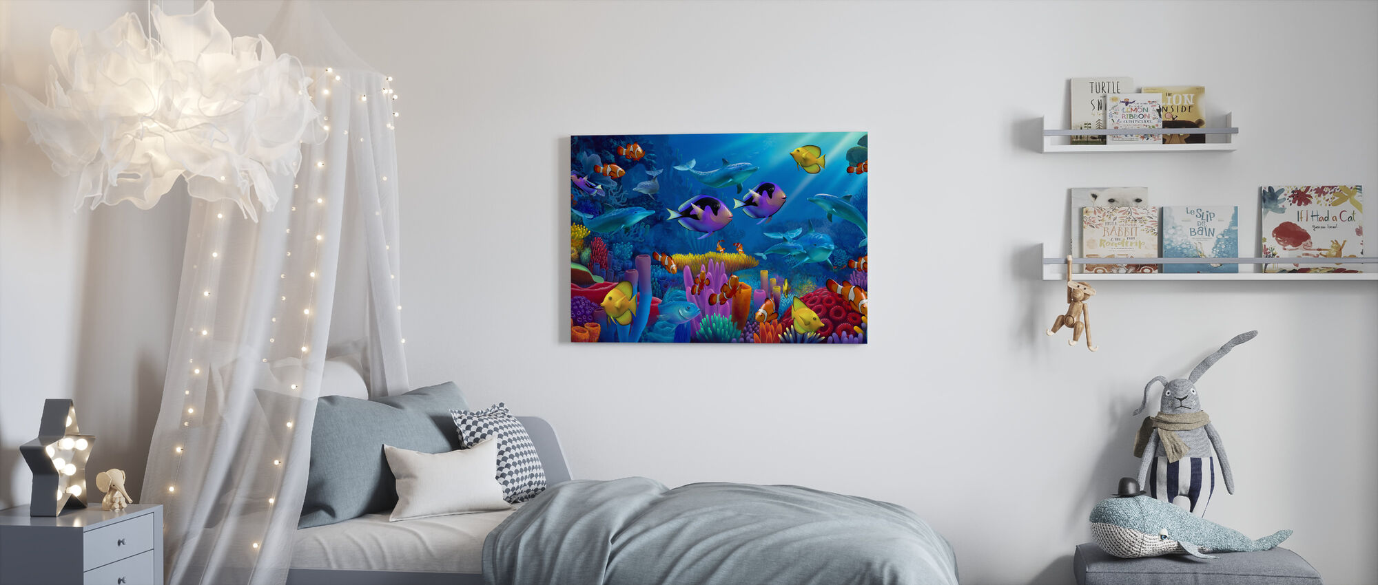 Ocean of Color - Canvas print - Kids Room