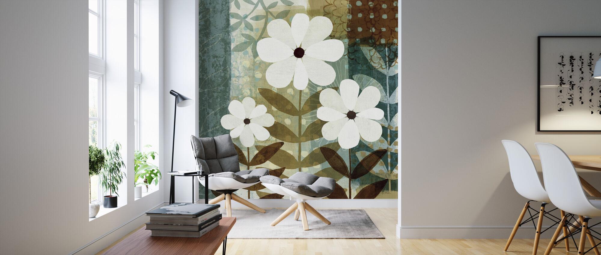 Floral Dream II - Behang - Woonkamer