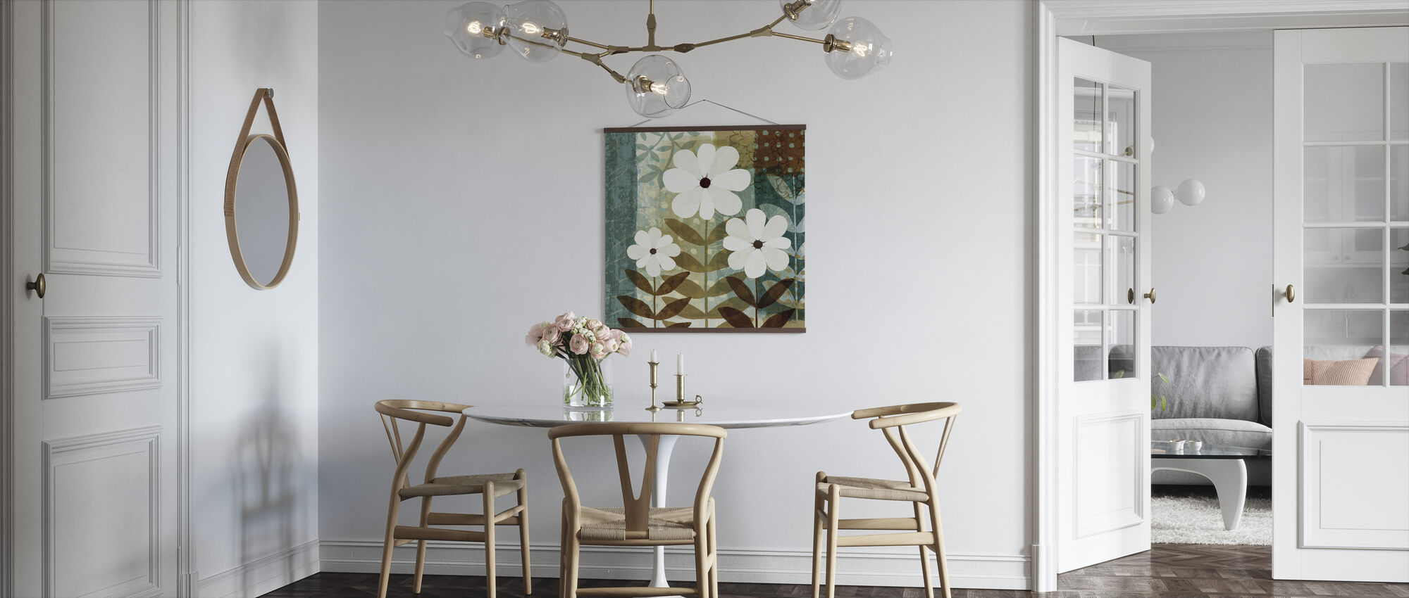Floral Dream II - Poster - Keuken