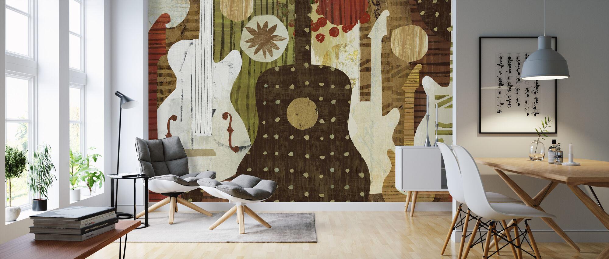 Rock and Roll Fantasy - Wallpaper - Living Room