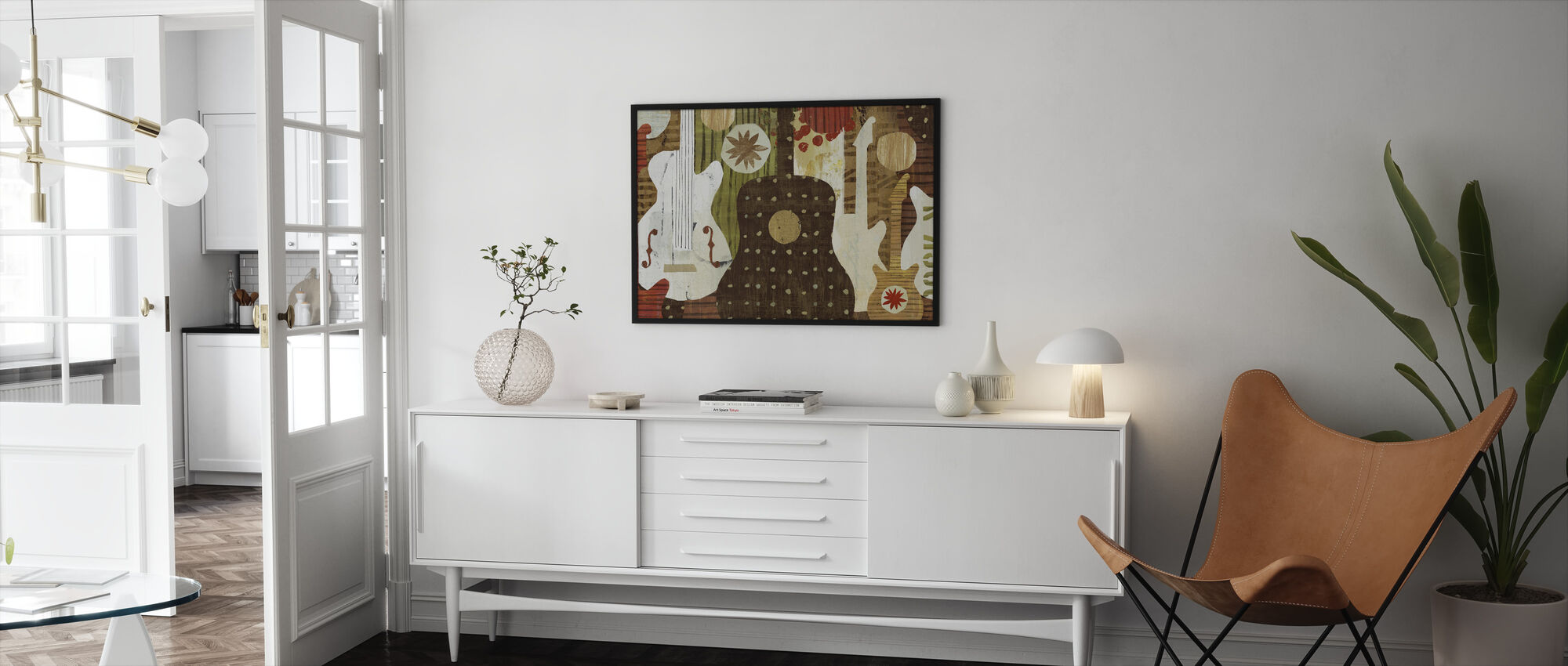 Rock and Roll Fantasy - Framed print - Living Room