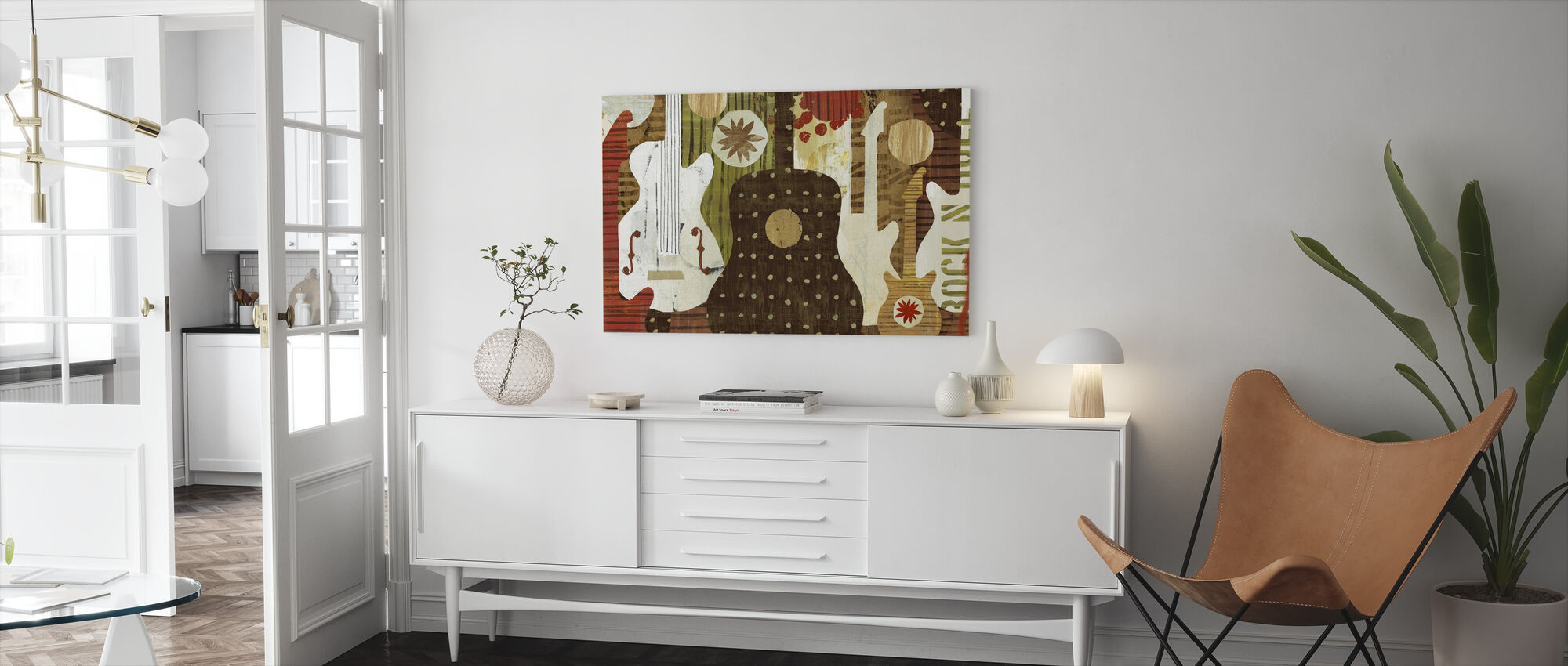 Rock and Roll Fantasy - Canvas print - Living Room