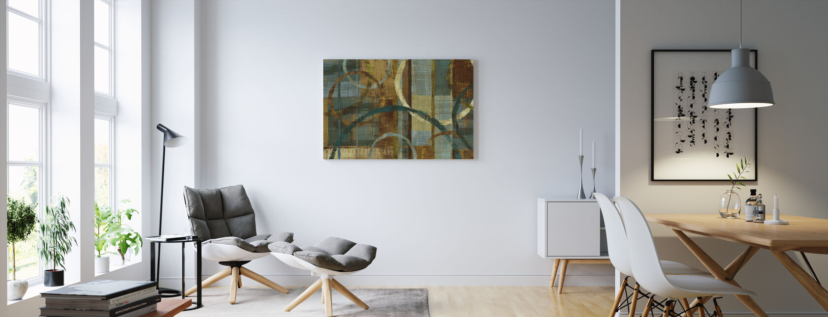 Tranquility Pattern - Canvas print - Living Room