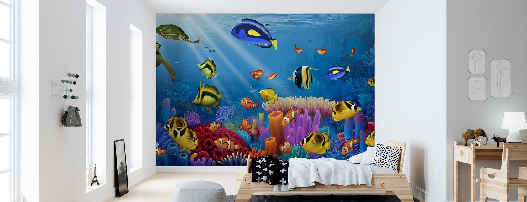 Elämän meri - Tapetti - Lastenhuone