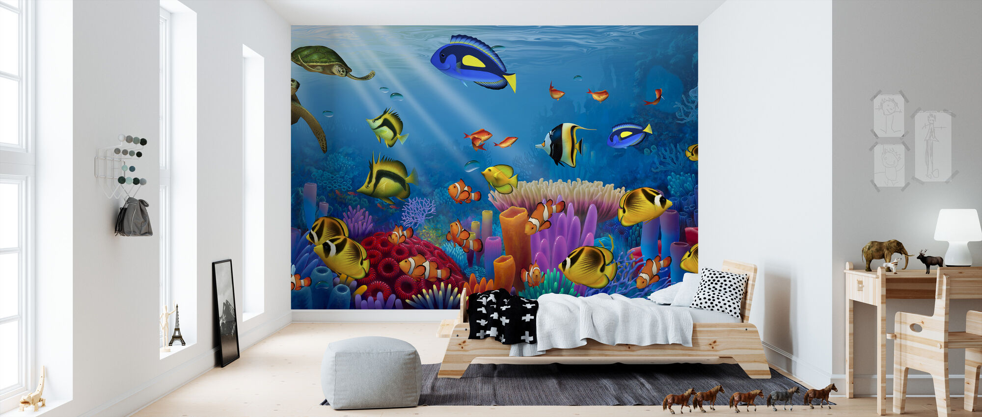 Sea of Life - Wallpaper - Kids Room