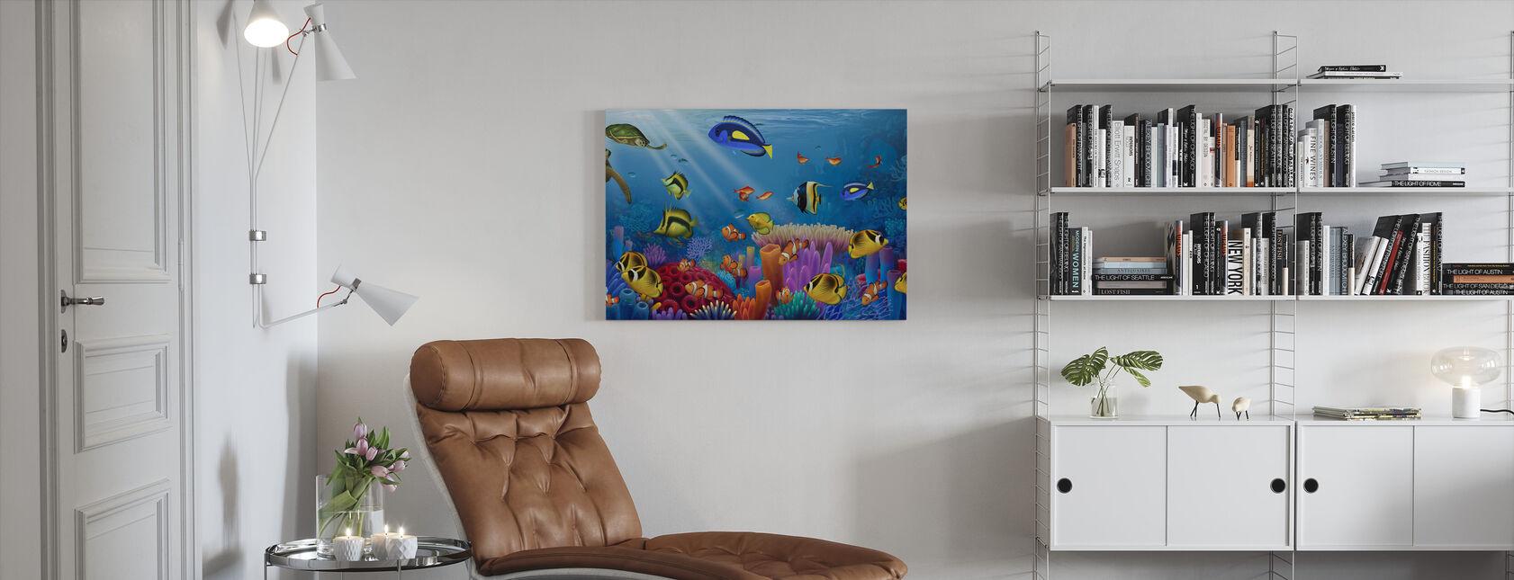 Zee van Leven - Canvas print - Woonkamer