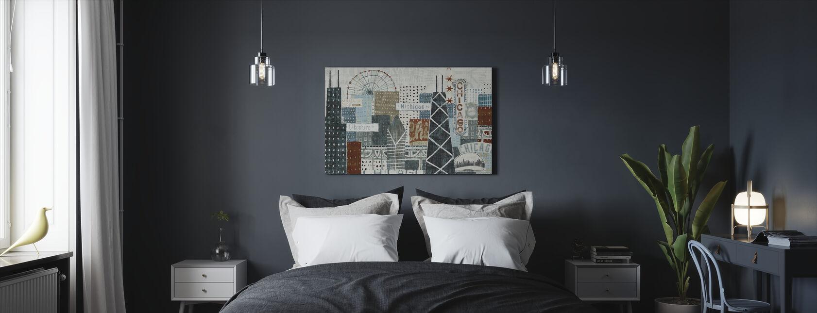 Hey Chicago - Canvas print - Bedroom
