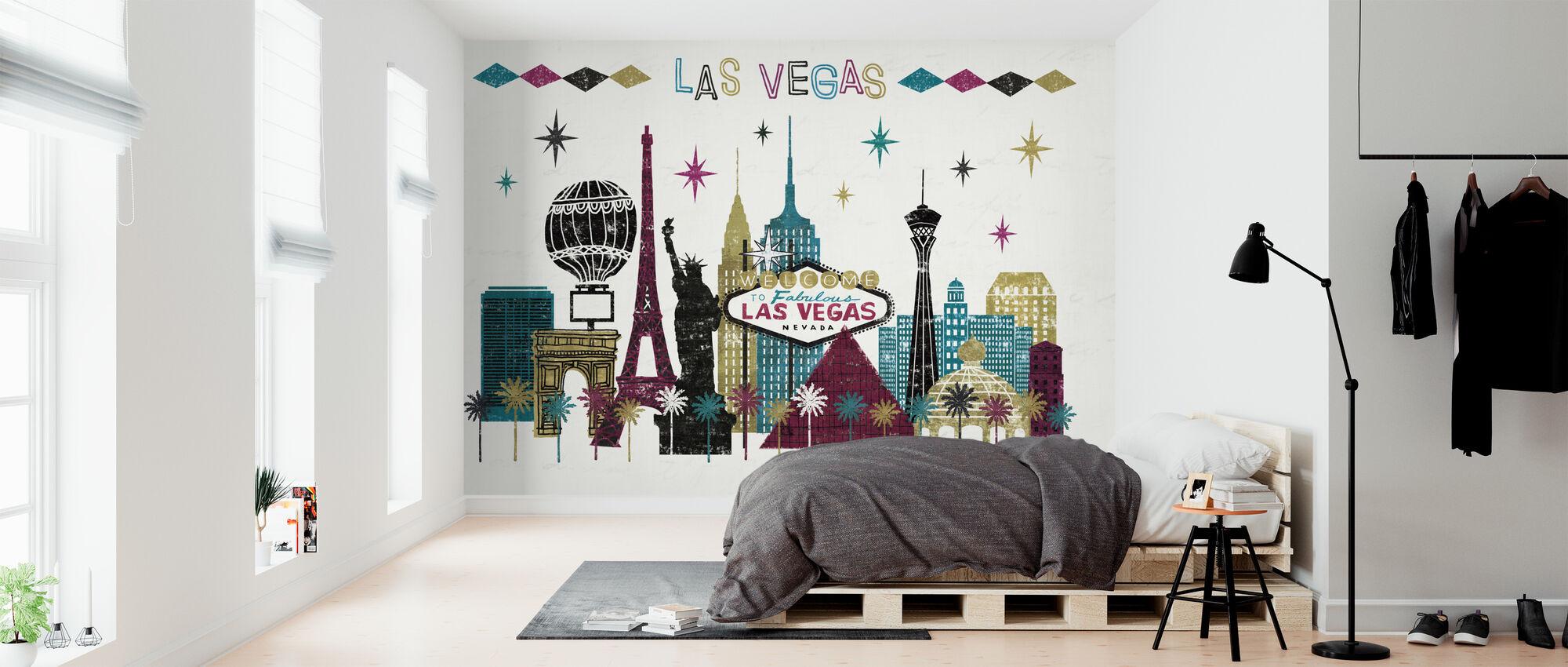 Vegas Skyline - Wallpaper - Bedroom
