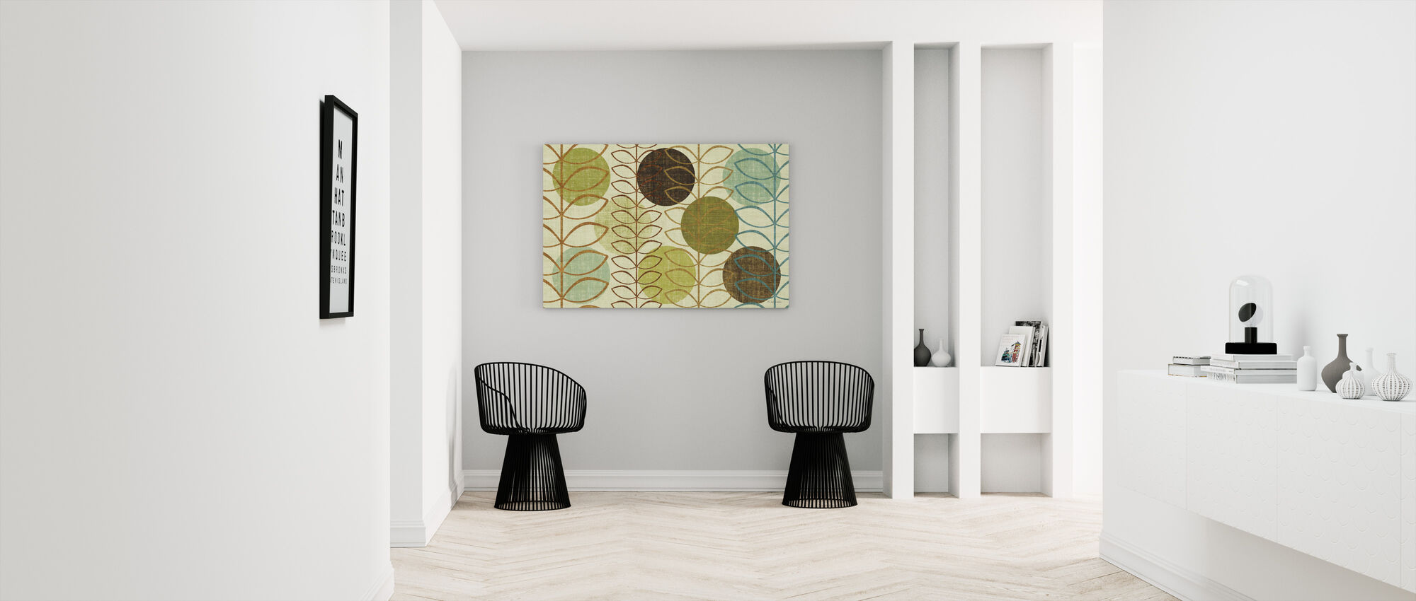 Moderni varret - Canvastaulu - Aula