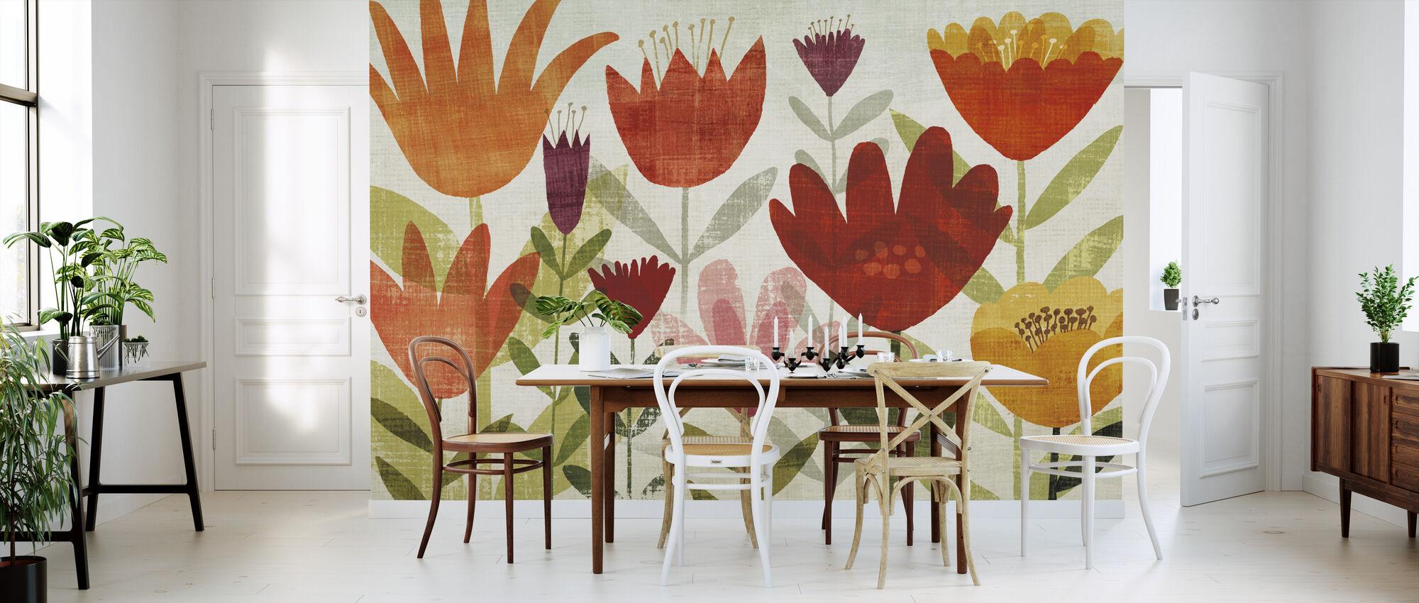 Modern Garden - Wallpaper - Kitchen