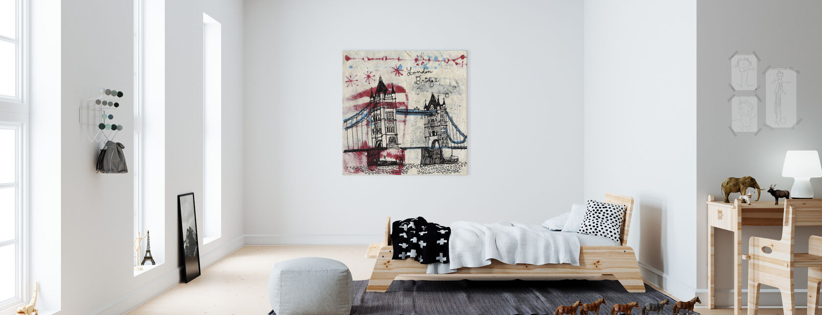 Tower Bridge - Canvas print - Kids Room