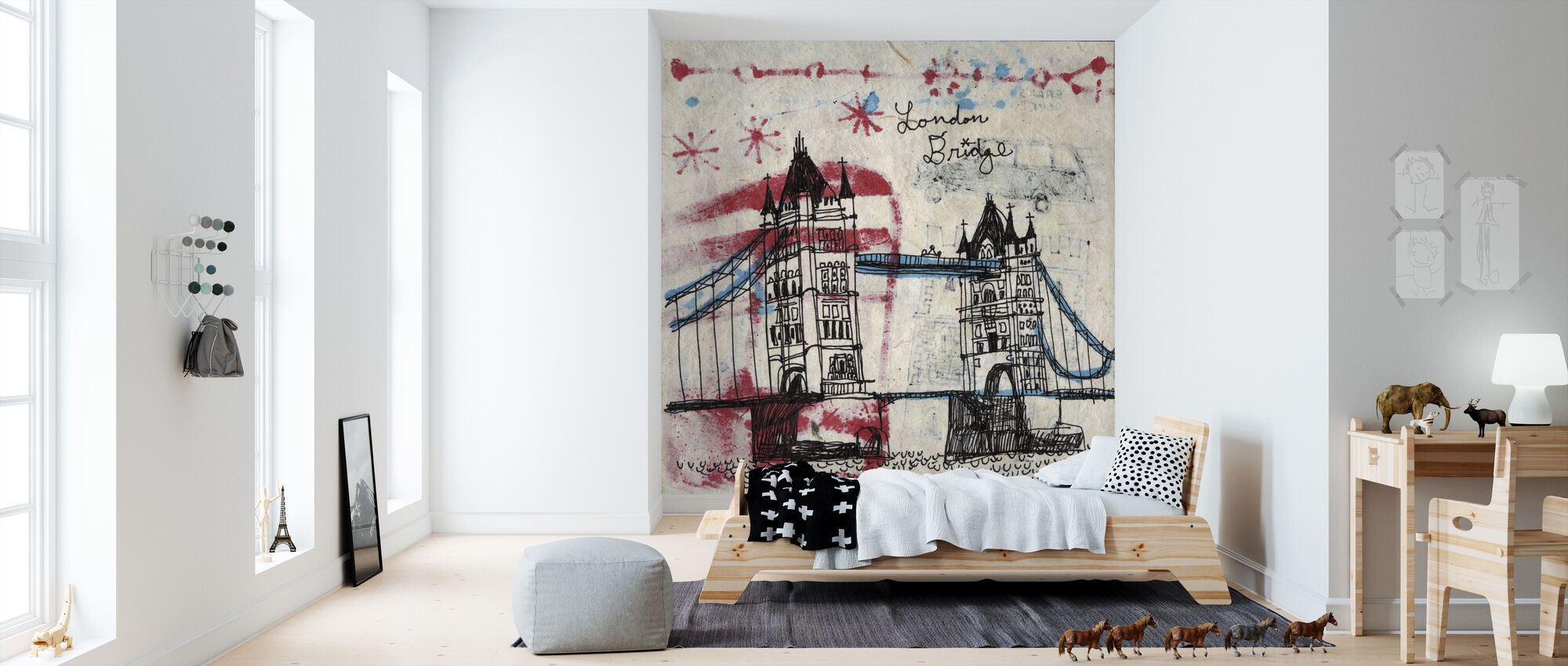 Tower Bridge - Wallpaper - Kids Room