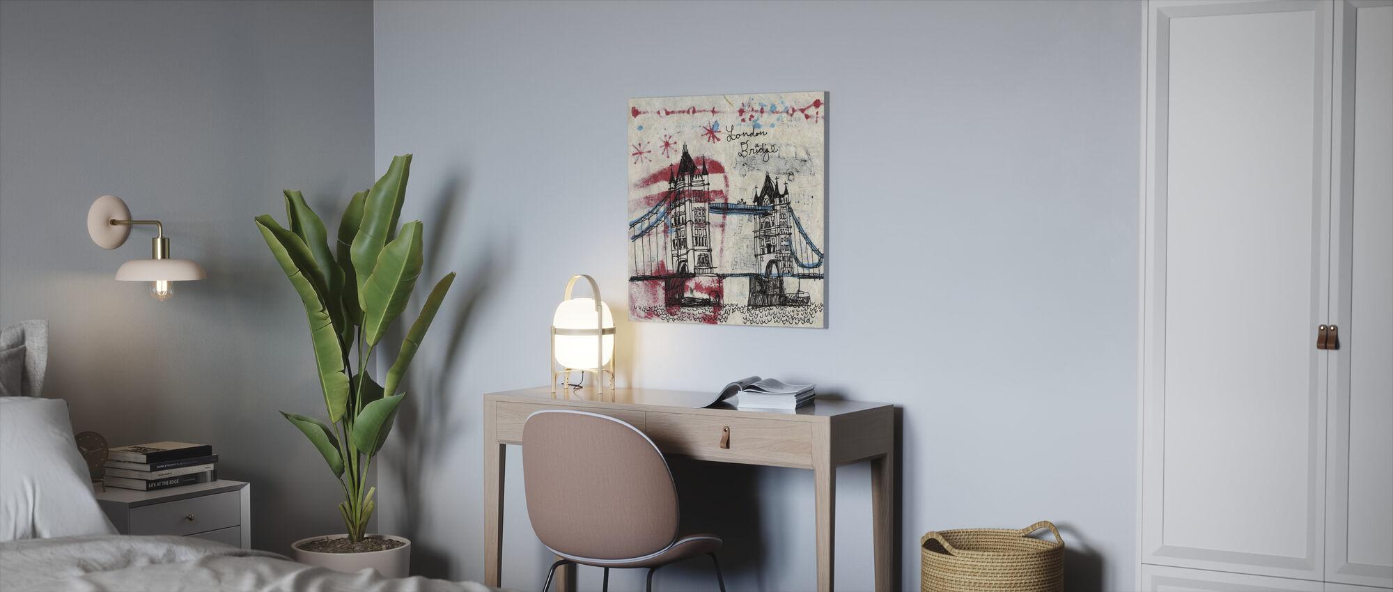 Toren Brug - Canvas print - Kantoor