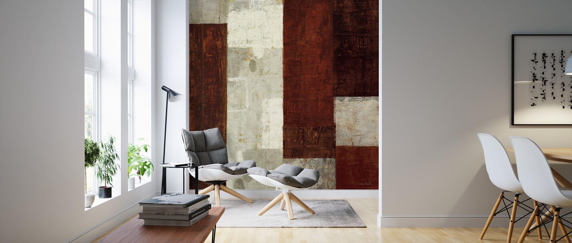 Cayenne - Wallpaper - Living Room