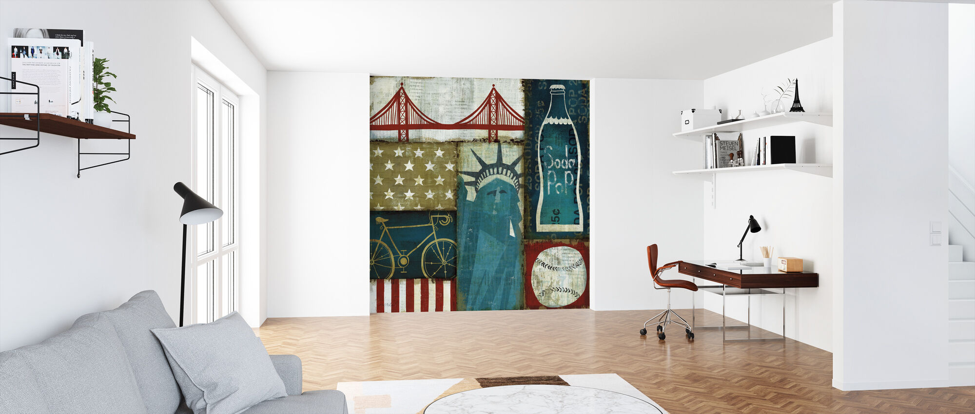 American Pop I - Wallpaper - Office