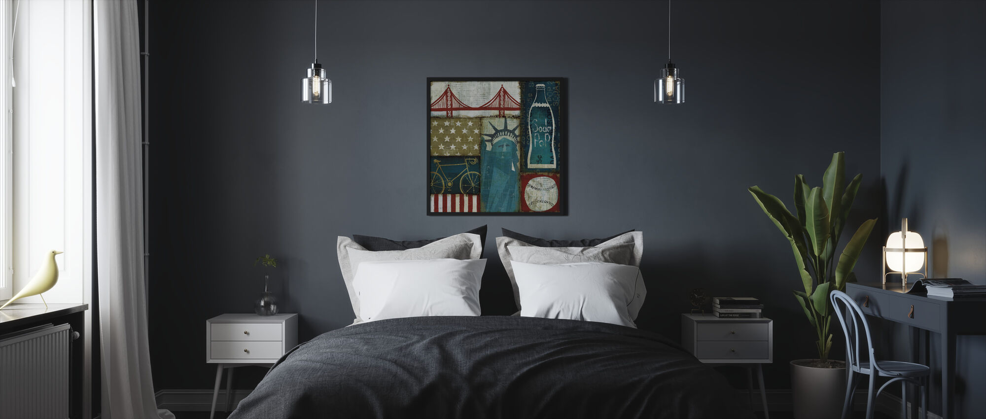 American Pop I - Framed print - Bedroom
