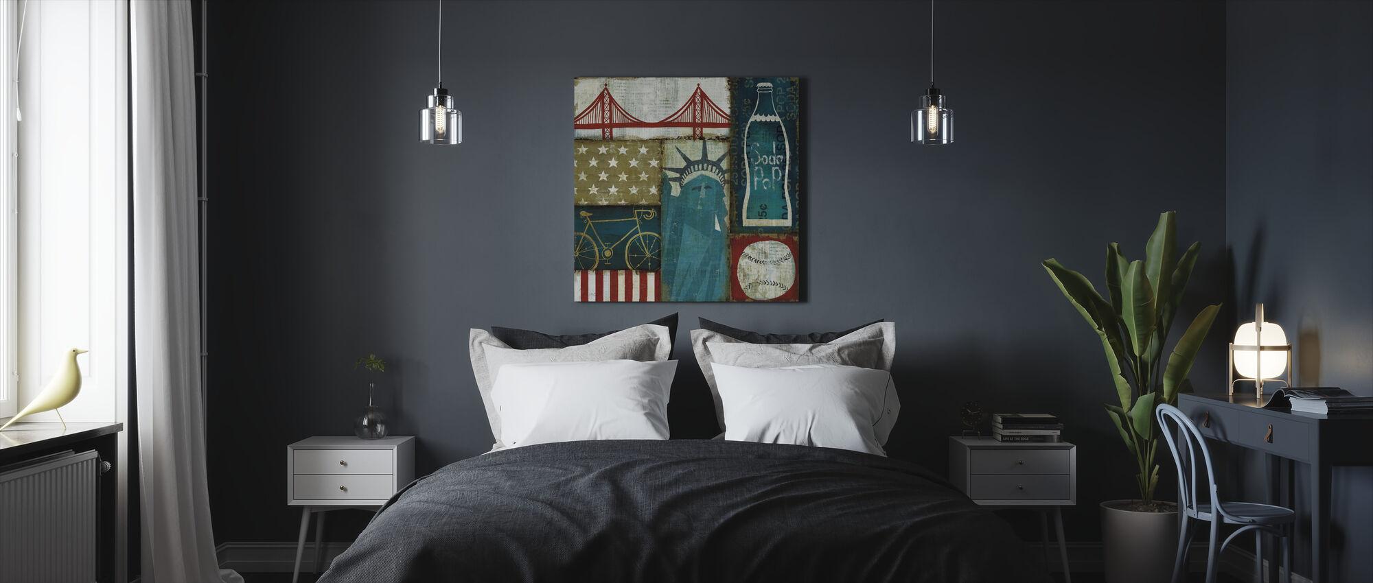 American Pop I - Canvas print - Bedroom