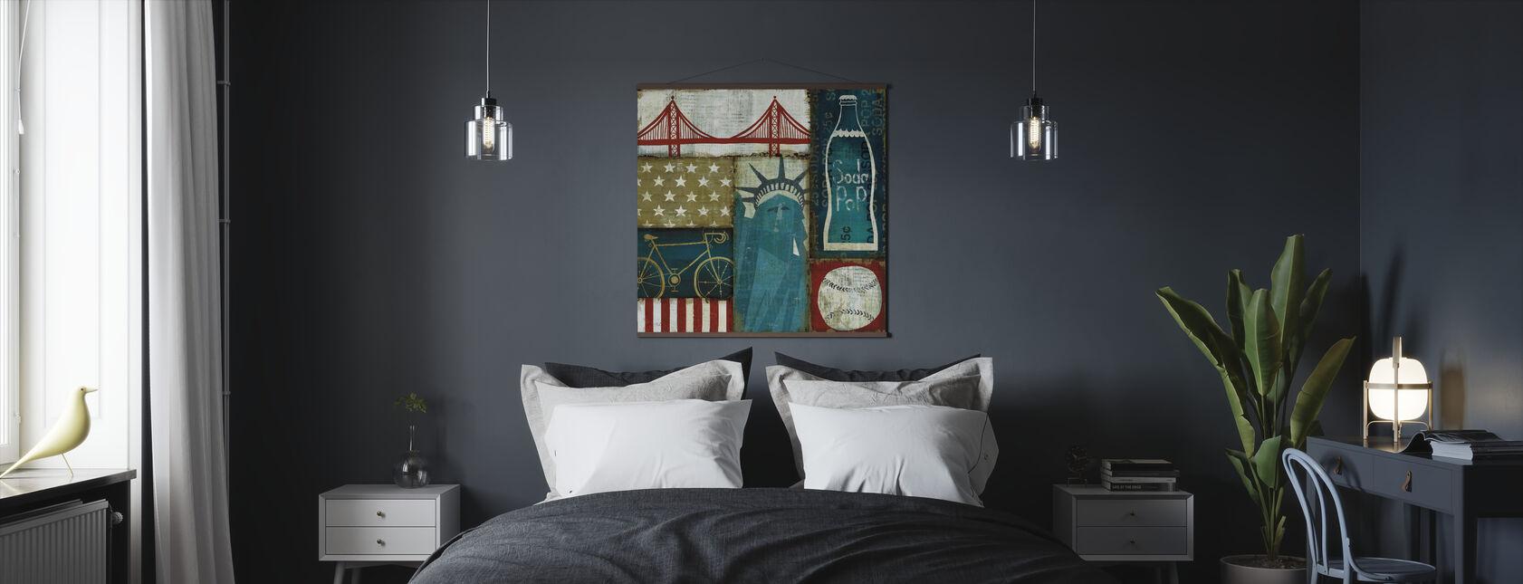 American Pop I - Poster - Slaapkamer