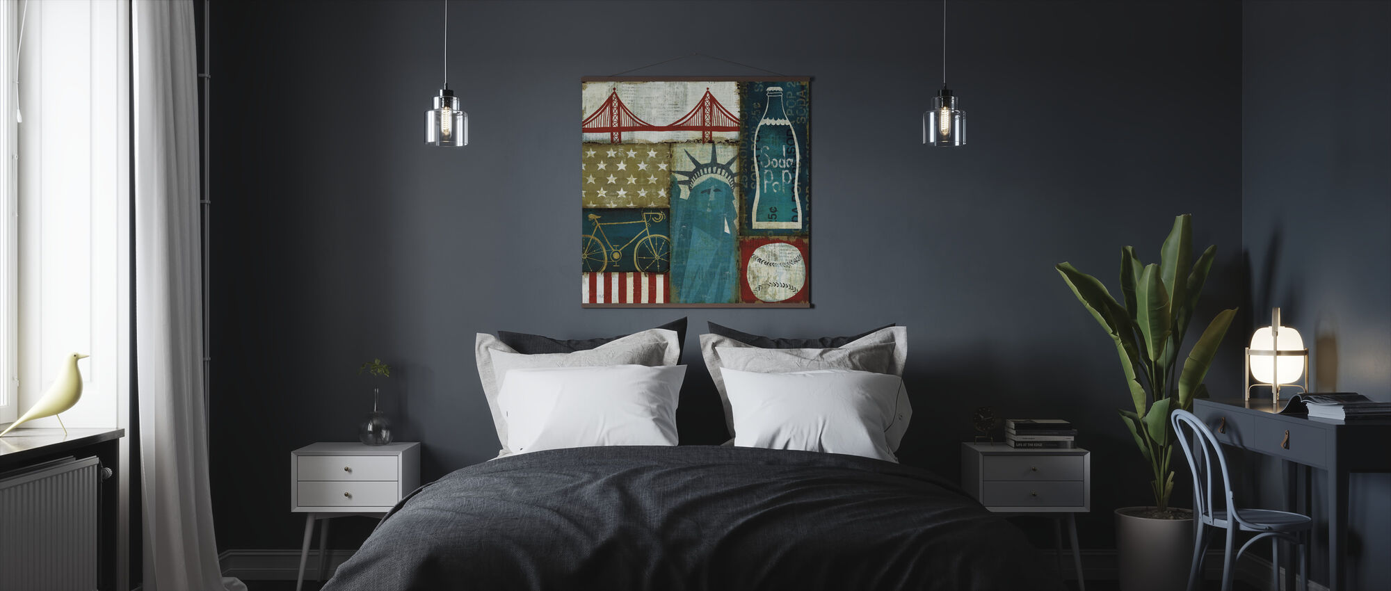 American Pop I - Poster - Bedroom
