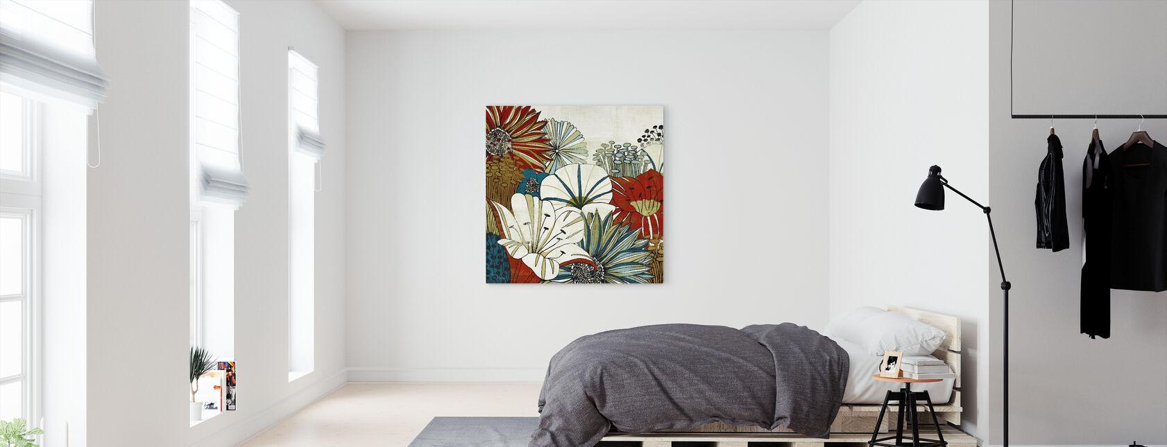 Jardin Contemporain I - Impression sur toile - Chambre