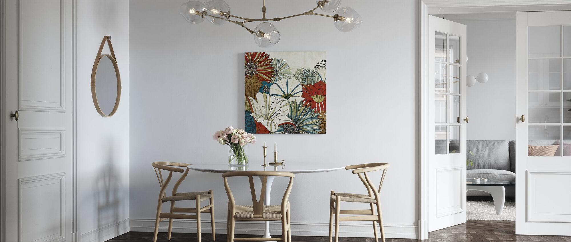 Contemporary Garden I - Canvas print - Kitchen