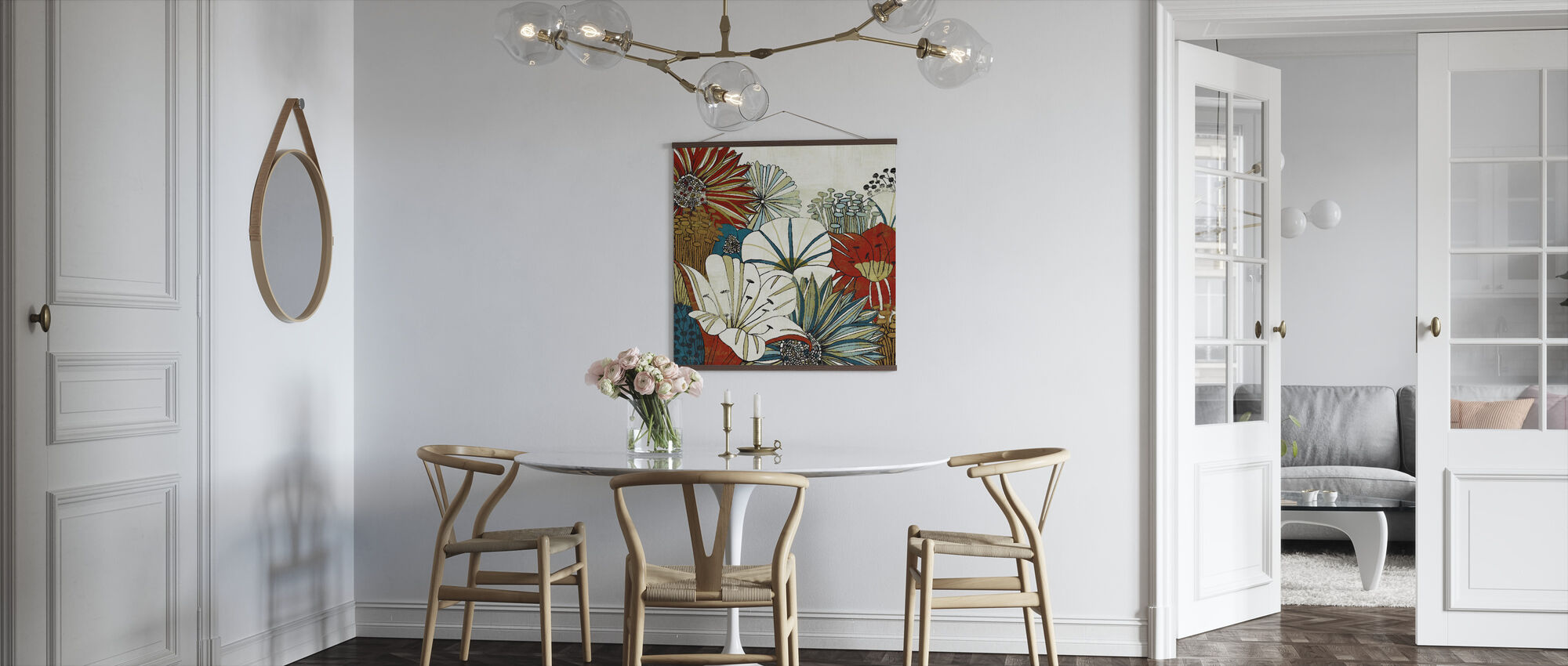 Contemporary Garden I - Poster - Kitchen