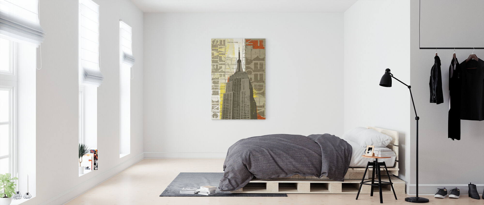 Vrijheid - Canvas print - Slaapkamer