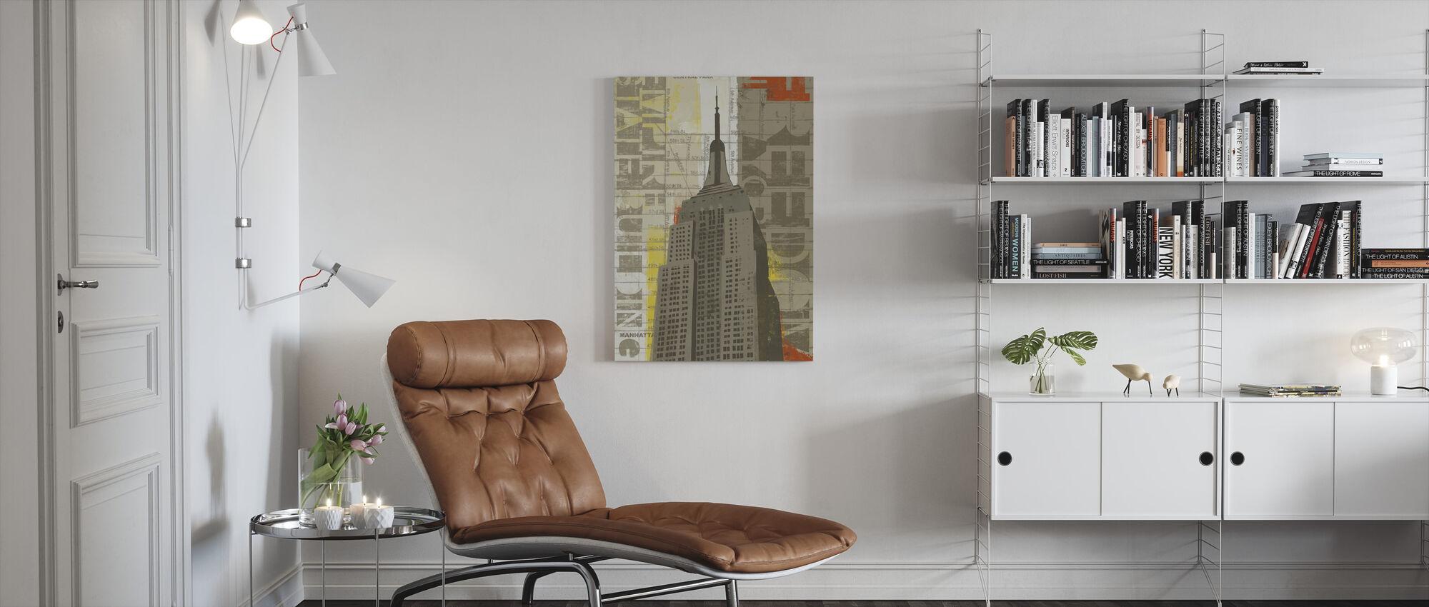 Freedom - Canvas print - Living Room