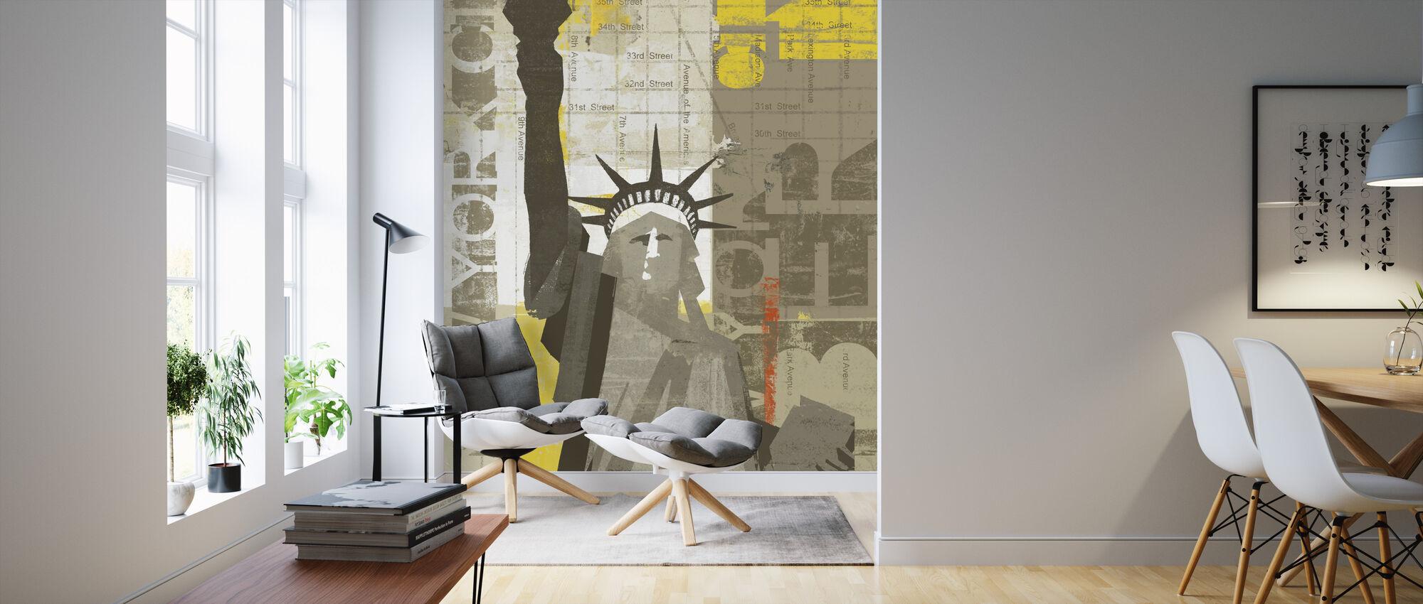 Liberty - Wallpaper - Living Room