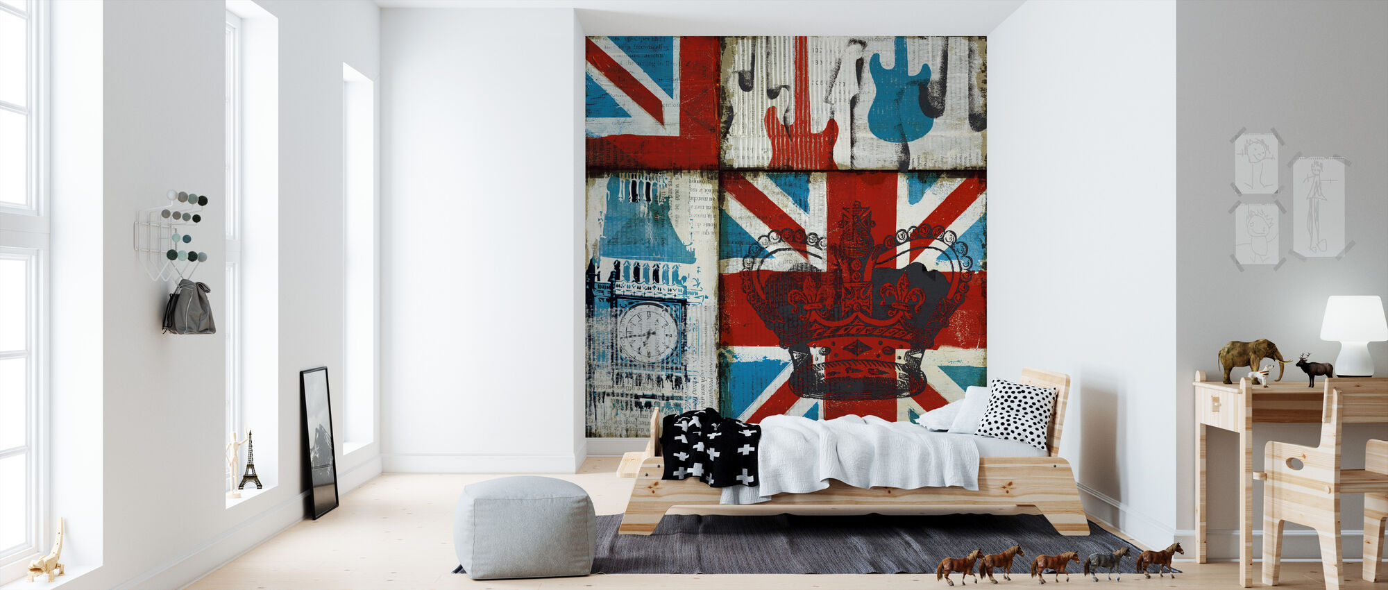 british rock i d coration murale pas cher photowall. Black Bedroom Furniture Sets. Home Design Ideas