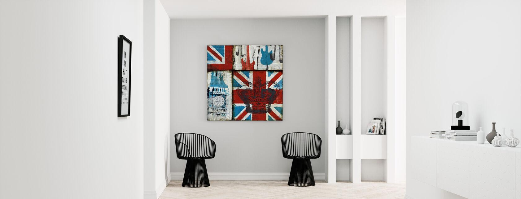 British Rock I - Canvas print - Hallway